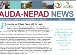 AUDA-NEPAD Newsletter April 2019
