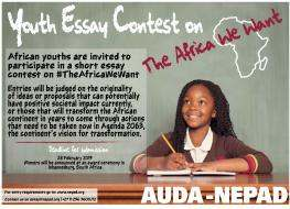 AUDA-NEPAD Youth Essay Contest on The Africa We Want