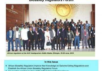 Newsletter: African Biosafety Network of Expertise (ABNE) - April to June 2019