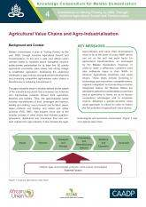 Agricultural Value Chains and Agro-Industrialisation